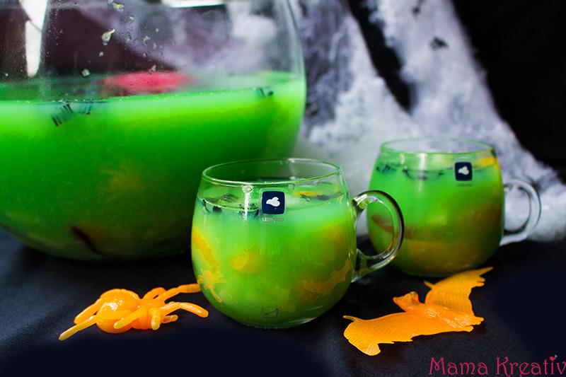 Halloween Party Rezepte gruselige Halloween Bowle