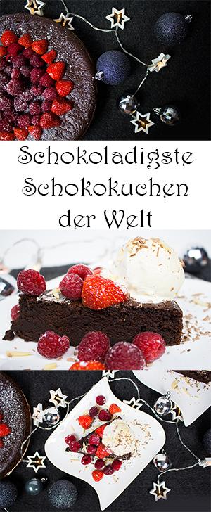 Schokoladigste Schokokuchen der Welt - Schokoladenkuchen-Rezept - sehr saftig und nicht zu süß