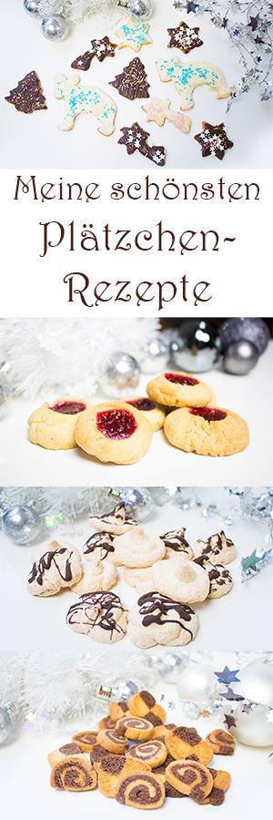 Meine 8 schönsten Plätzchen Rezepte - Weihnachtsplätzchen schnell und einfach mit Kindern backen - Zimtsterne, Engelsaugen, Vanillekipferl, Elisenlebkuchen, Kokosmakronen