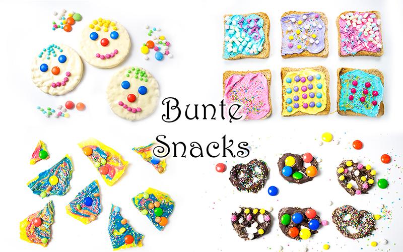 Faschingsparty - bunte Snacks und Rezepte