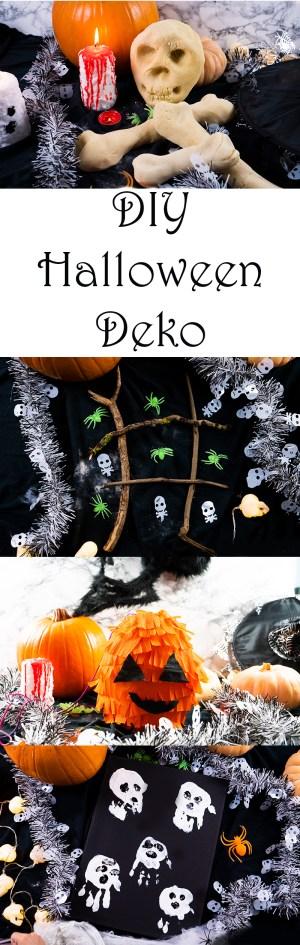 DIY Halloween Deko und Spiele selber machen einfache Ideen