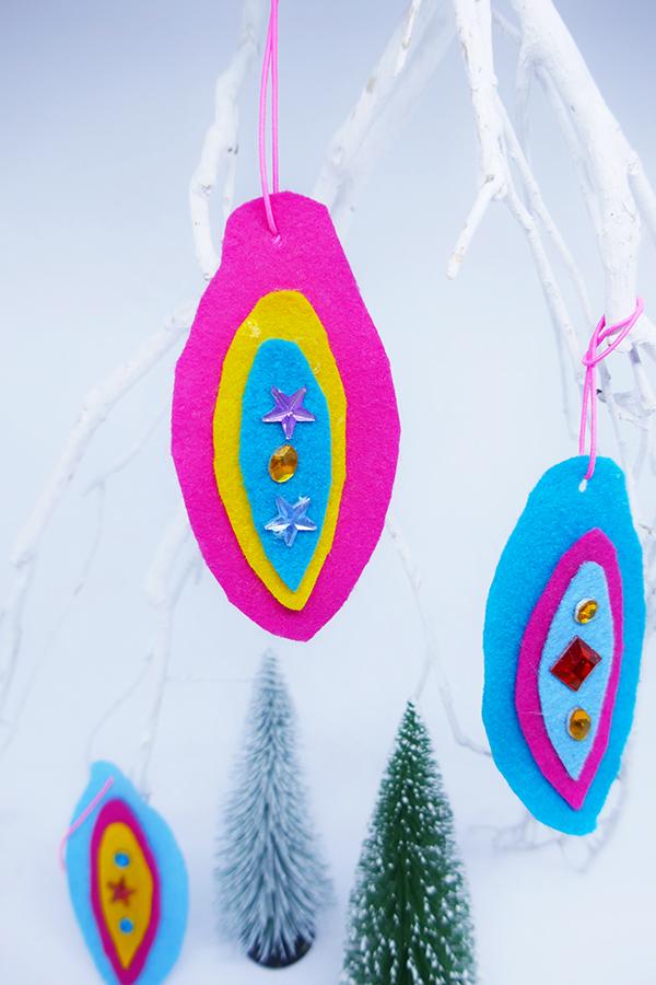 Weihnachtanhänger aus Filz basteln mit Kinder zu Weihnachten (1)