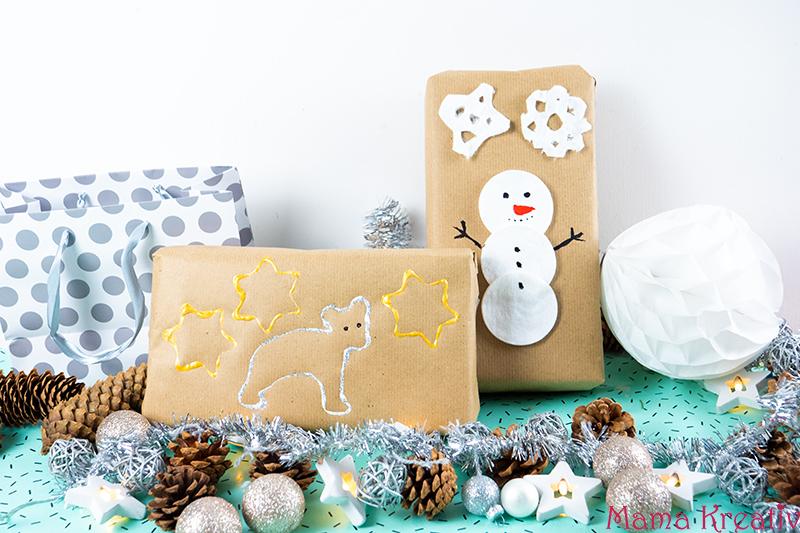 Weihnachtsbasteln mit Kindern: viele Ideen für Weihnachtskarten, Weihnachtsschmuck, selbstgemachte Geschenke und vieles mehr - Weihnachten mit Kindern machen