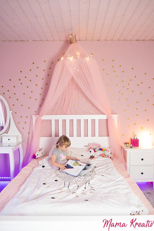 Mädchenzimmer gestalten: einfache Ideen — Mama Kreativ