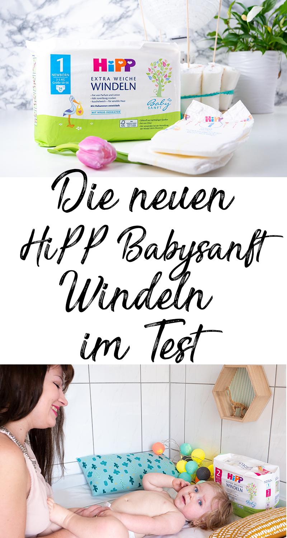 DIY Heißluftballon Windeltorte Anleitung zum selber machen und die neuen HiPP Babysanft Windeln im Test Erfahrungen