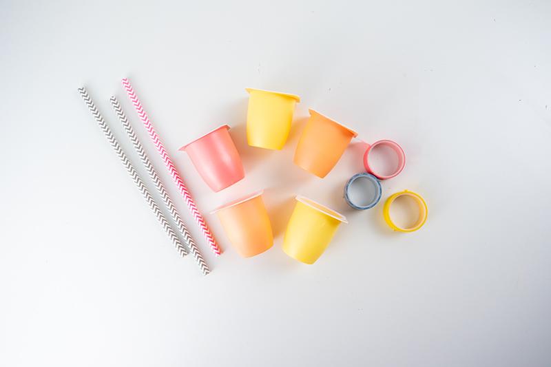 Sommer Party Ideen für Kinder Party Sommer Geburtstag Spiele Dekoration Rezepte Tipps Obst Zwerge Becher Upcycling Wiederverwendung (99)