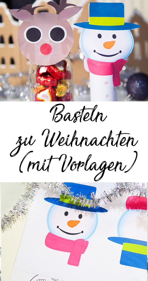 Basteln Mit Kindern Zu Weihnachten Mit Vorlagen Mama Kreativ