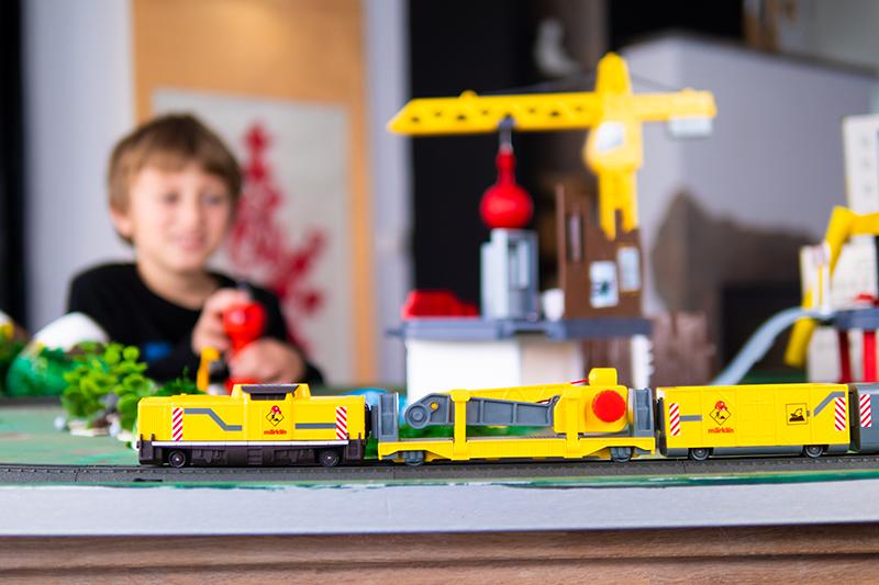 märklin my world upcycling spielwelt für kinder basteln baustelle spielzeugeisenbahn modeleisenbahn Geschenkidee für Kinder zu weihnachten