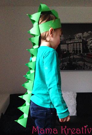 DinoKostm selber machen  Mama Kreativ