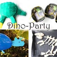 Dino-Geburtstag: Spiele, Deko und Rezepte