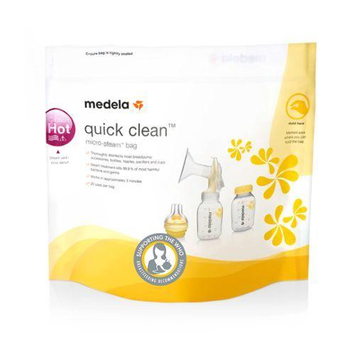Medela Quick Clean maišeliai sterilizavimui, 5vnt.