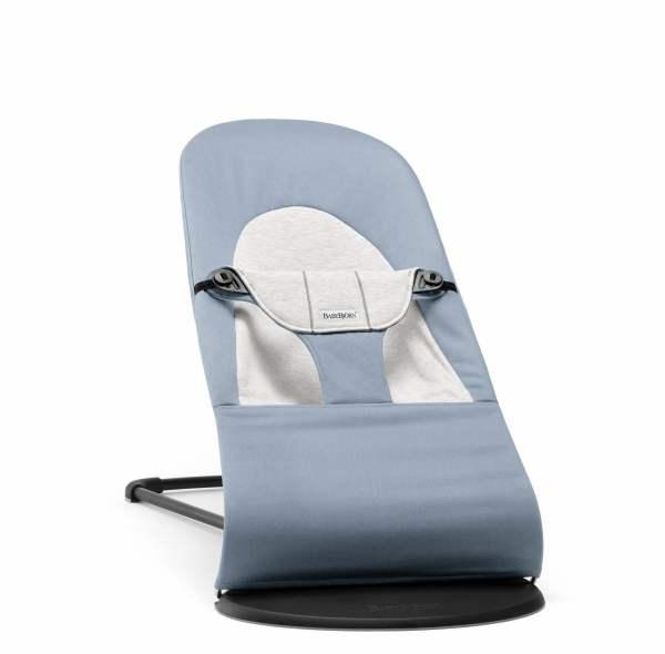 BABYBJÖRN Balance gultukas Soft Blue/Grey, Cotton Jersey