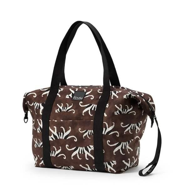Elodie Details Soft Shell Grande White Tiger mamos krepšys