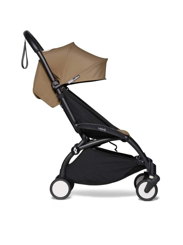 BABYZEN YOYO² vežimėlis 2in1 0+, 6+ rėmas Black, Toffee