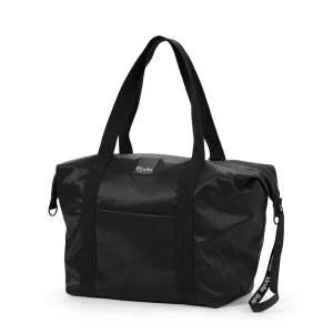 Elodie Details Soft Shell Grande Black mamos krepšys