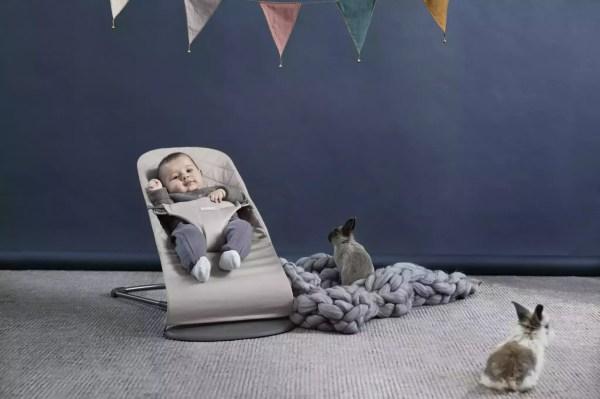 BABYBJÖRN gultukas Bliss, Sand grey
