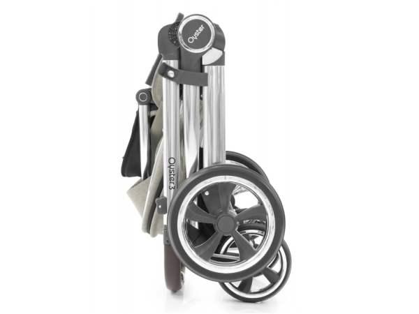 Oyster 3 sportinis vežimėlis Caviar/Mirror