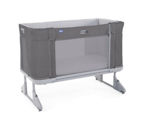 CHICCO NEXT2ME Forever lopšiukas, Moon Grey