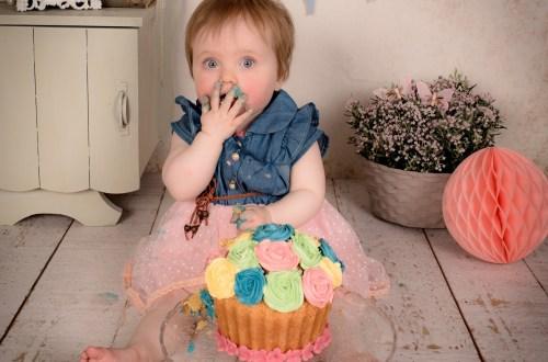 бебешка торта, торта вулкан, торта за бебе, захранване, бебе