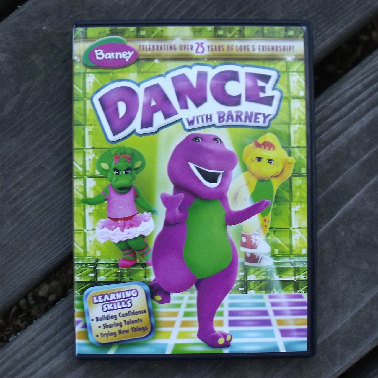 Dance With Barney Dvd