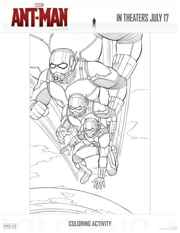 free printable antman coloring page  mama likes this