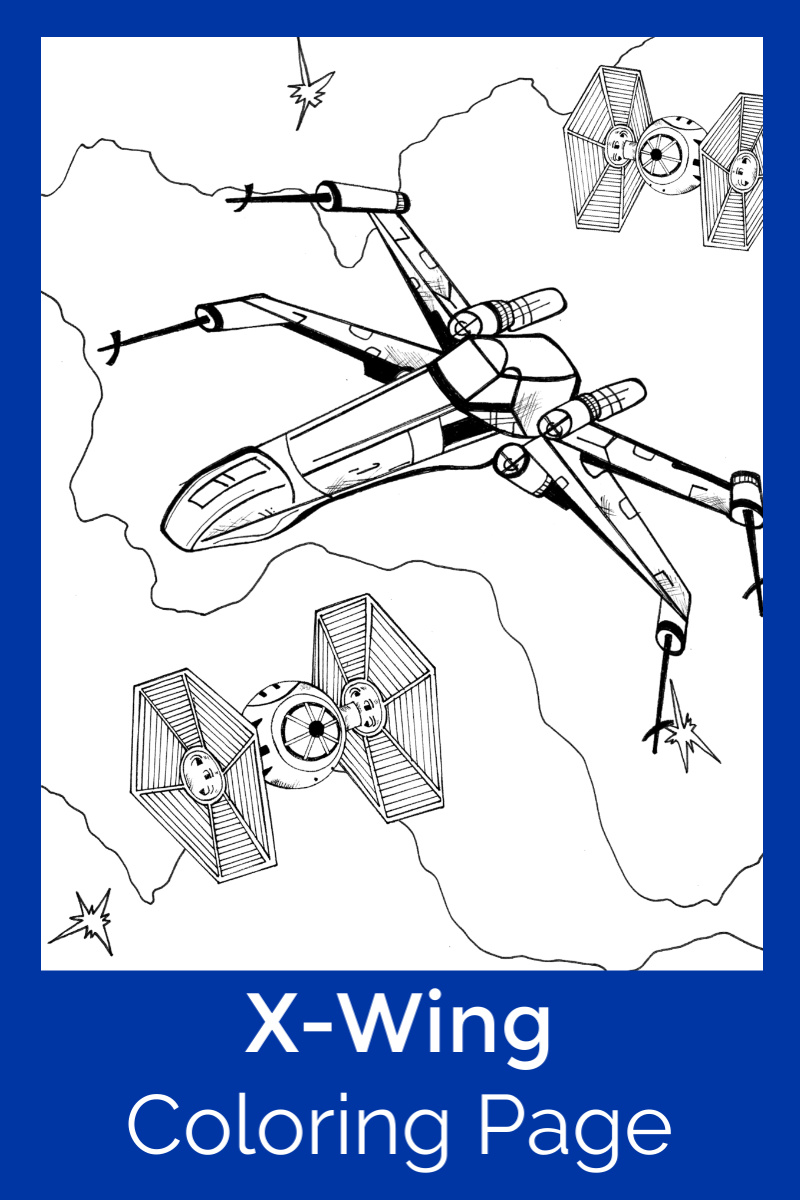 X Wing Coloring Page : coloring, Rebel, Alliance, X-Wing, Starfighter, Coloring, Likes