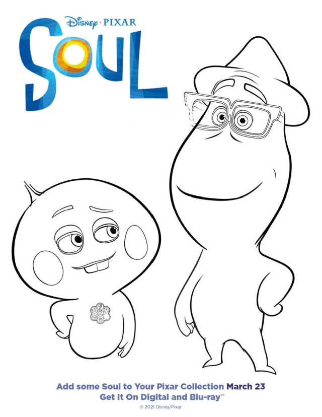 Soul Coloring Page Free Download - Mama Likes This