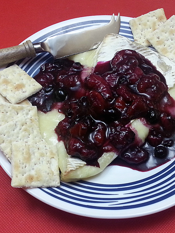 Berry Citrus Compote with Baked Brie  Mama Likes To Cook