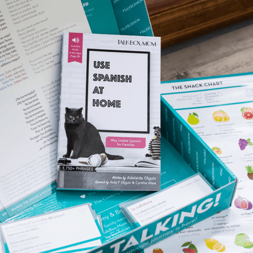 TalkBox.Mom: A Deluxe Language Subscription Box!