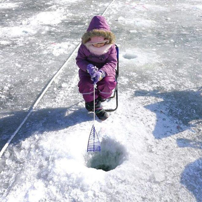 #fishing in #hwacheon. Super kalt, aber erfolgreich :) 6 Fische haben wir gefangen. #mamablogger_de #mommyblogger #momsblogger #familyblogger