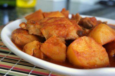 Spicy Chicken Stew – Dak bokkeum tang