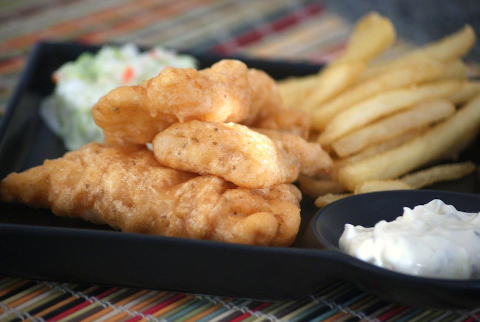 Beer battered fish and chips recipe for How do you make batter for fish