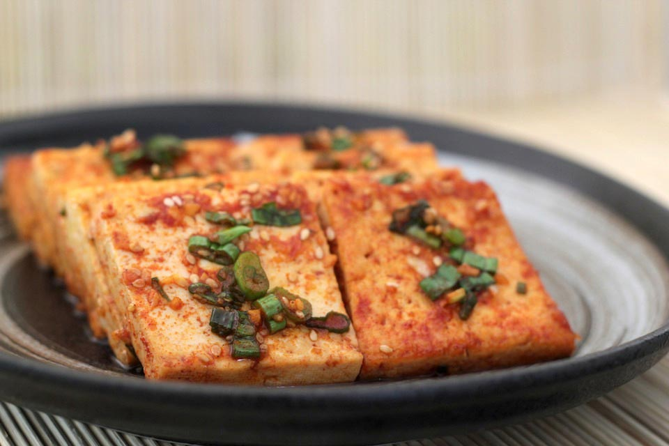 Simmered tofu recipe - 두부조림
