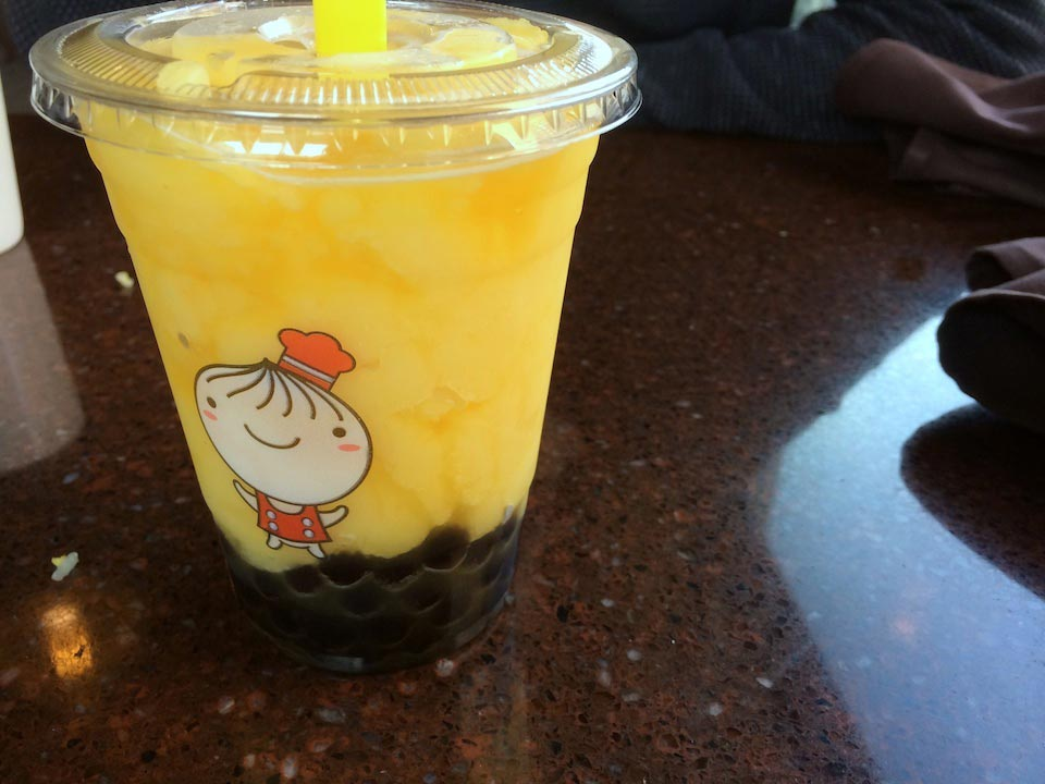 Passion fruit Boba