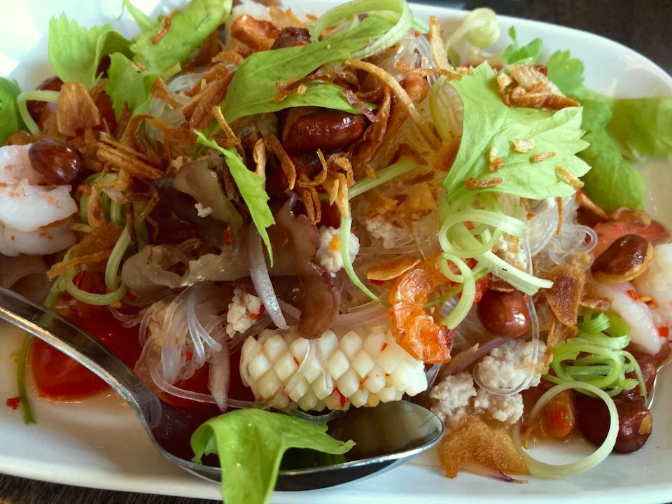 Squid Noodle Salad