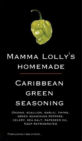 mama lolly's green seasoning