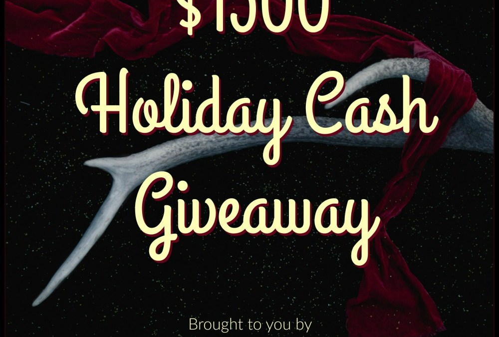 $1500 Christmas Holiday Cash Giveaway