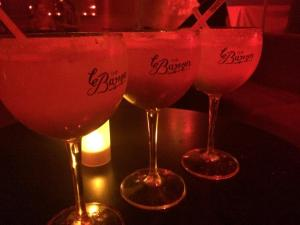 le Baron night out in Paris