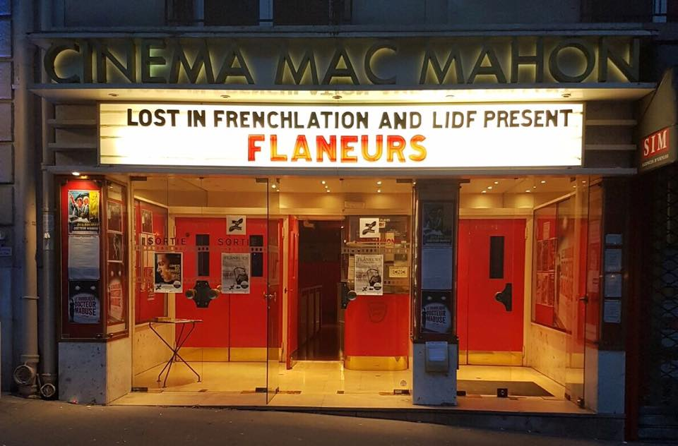 French movies with English subtitles for Expats in Paris
