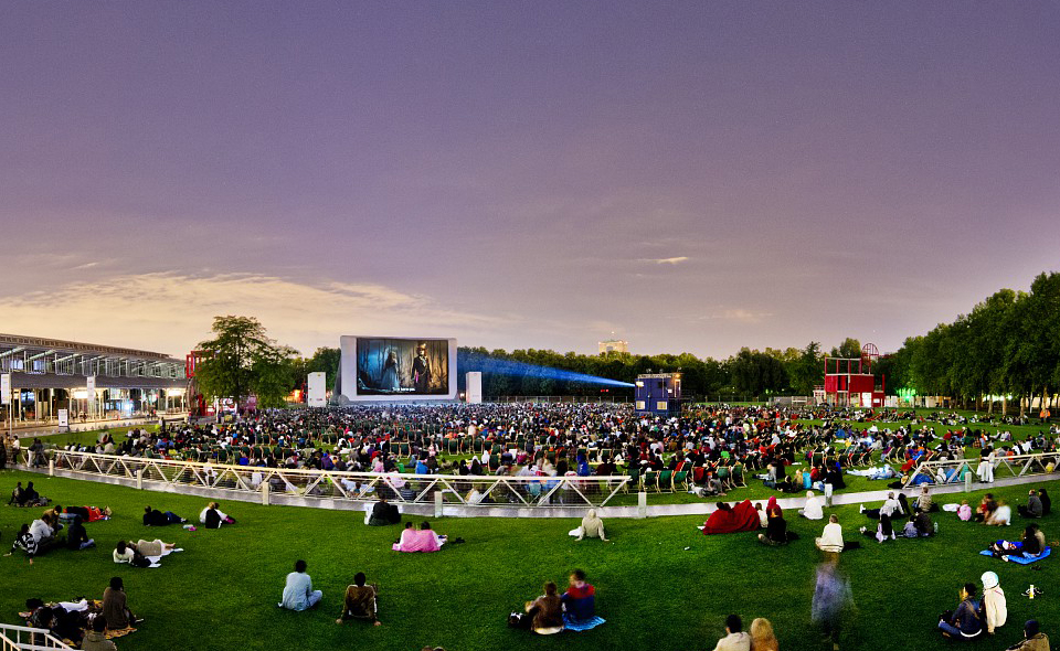 Open-air movies in Paris this Summer