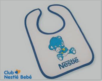 Babero gratis Club Nestlé