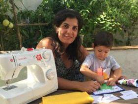 Marisa, creadora de Baby book Spain
