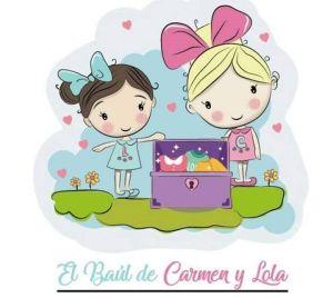 """Logo """"El baul de Carmen y Lola""""."""