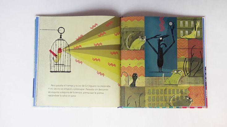 Ilustraciones del cuento.