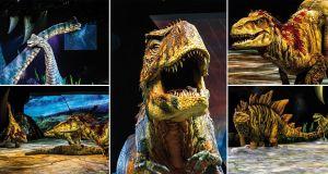 Tiranosaurio Rex en acción.Imagen de taquilla.com