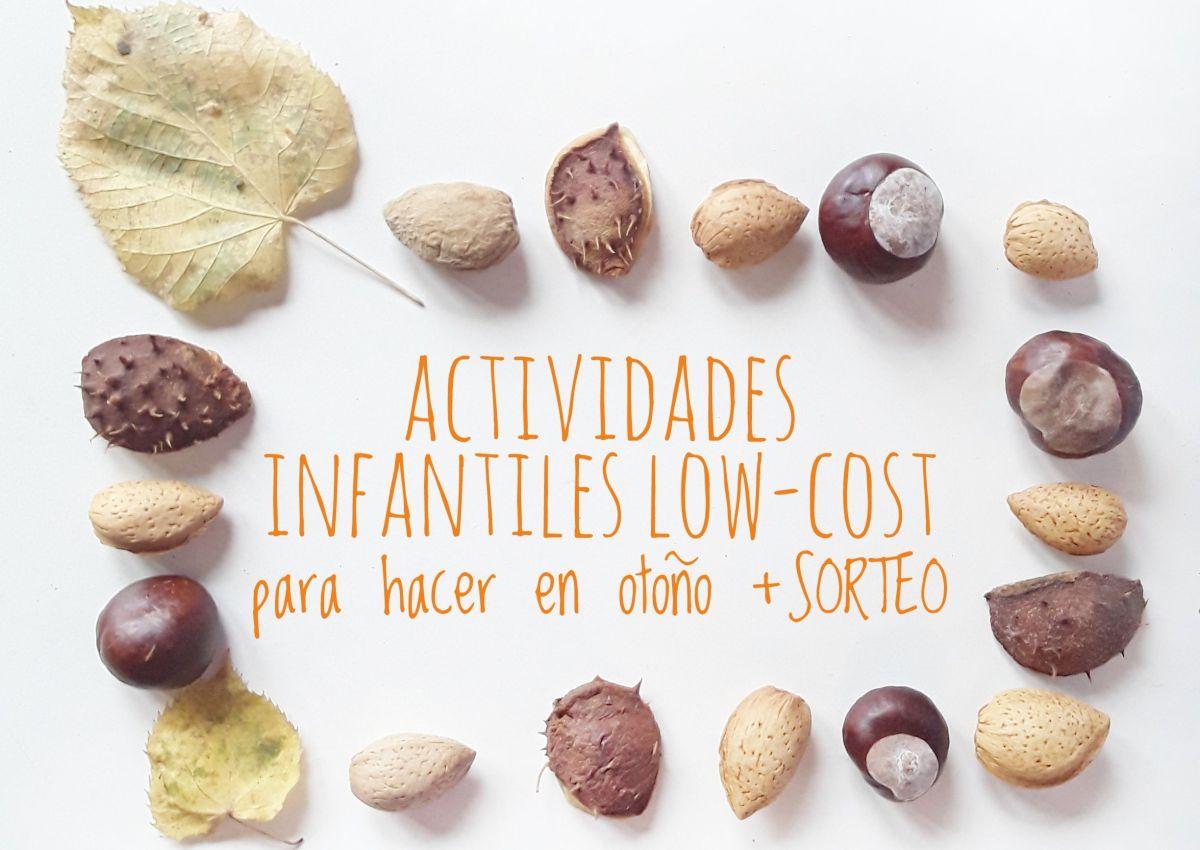 Actividades infantiles low-cost para hacer en otoño + SORTEO