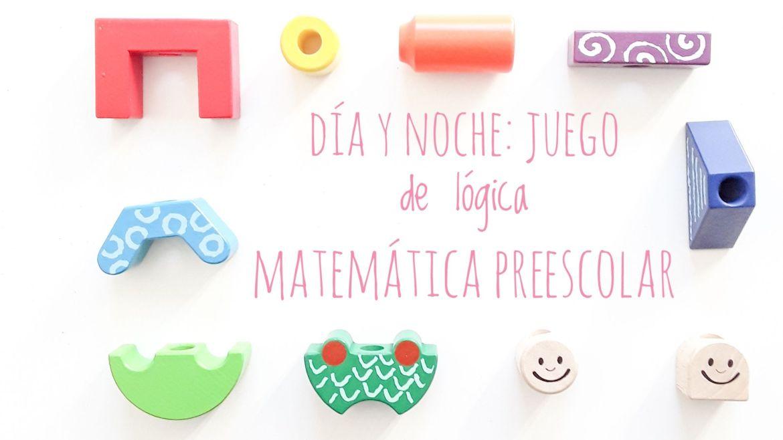 Título. Juegos de lógica matemática preescolar