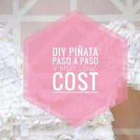 DIY piñata paso a paso y muy low-cost.
