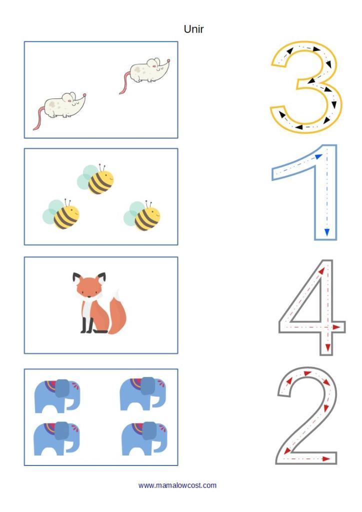 Unir números