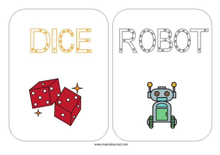 Flash cards Toys